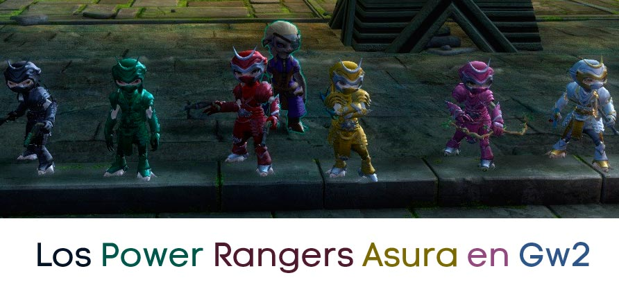 Power Rangers Asura, en Guild Wars 2